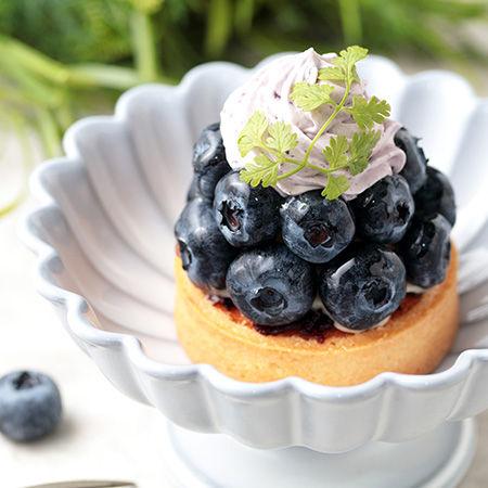 【季節のピースケーキ】小田原産大粒ブルーベリータルト 販売のお知らせ
