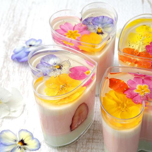 花のババロア HAPPY WHITE DAY! 3.14